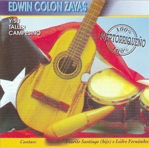 "Edwin Colón Zayas ""100% Puertorriqueño"" CD"