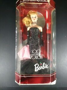 Blonde-Barbie-Solo-In-The-Spotlight-Special-Edition-Reproduction-Doll-Box-Damage