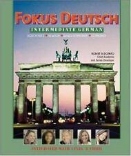 Fokus Deutsch:  Intermediate German (Student Edition + Listening Comprehension A