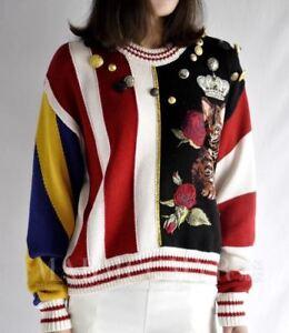 Star Rose Cat lavorato New Popular Maglione maglia Favorite a Occident Fashion 8qOnXUxXtY