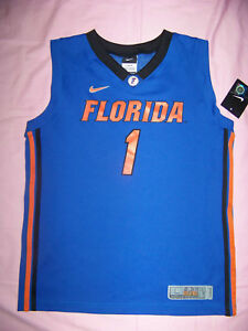 buy popular 34683 63847 Details about Nike Youth University of Florida UF Gators #1 Basketball  Jersey NWT Large(16-18)
