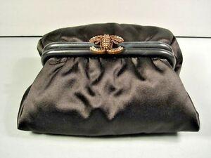 8d89bda54d Chanel Black Satin Limited Edition
