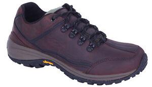 Mens leather walking hiking shoe Slatters Wallaby mallee