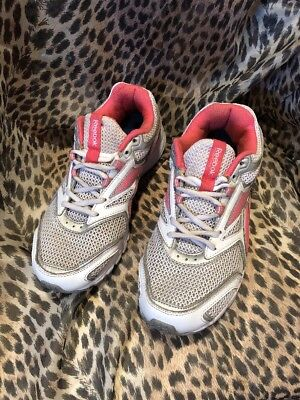 Women's Reebok DMX RIDE Running Training Shoes Pink/White