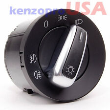 Euro Headlight Switch Light For VW Passat CC B6 Jetta Golf MK5 MK6 5ND941431A