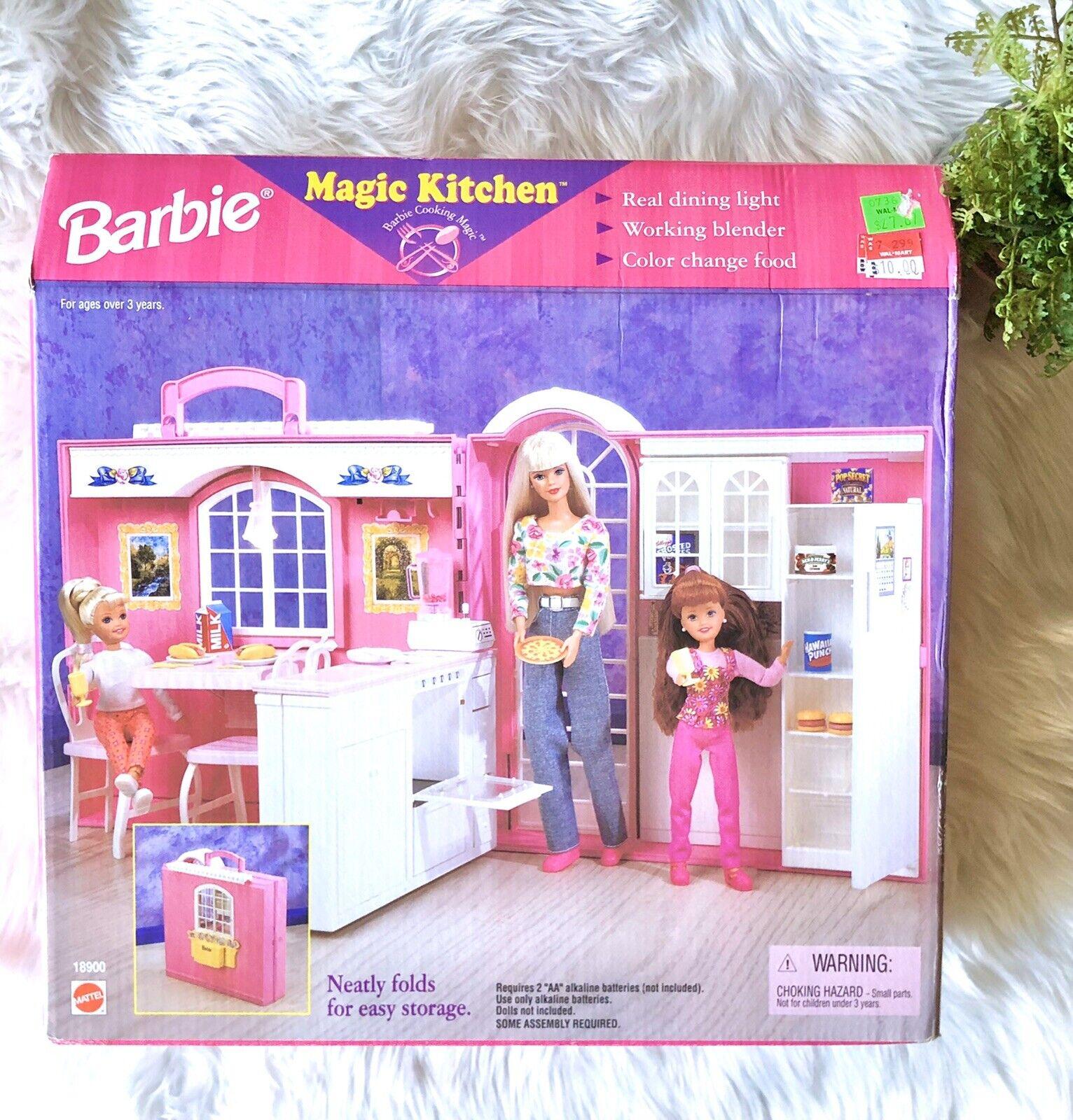 Vintage Barbie Magic Kitchen Playset by