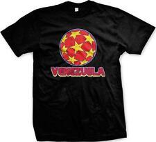 Venezuela Soccer Ball Orgullo Balón De Fútbol Mens T-shirt