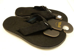 12b6e87d0 Image is loading TEVA-MENS-SANDALS-VOYA-FLIP-BRICK-BLACK-SIZE-
