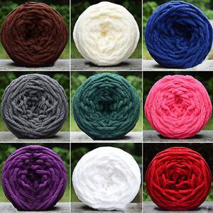 KQ-HB-Scarf-Sweater-Towel-Thick-Yarn-Ball-Hand-Knitting-Crochet-Craft-DIY-Gift