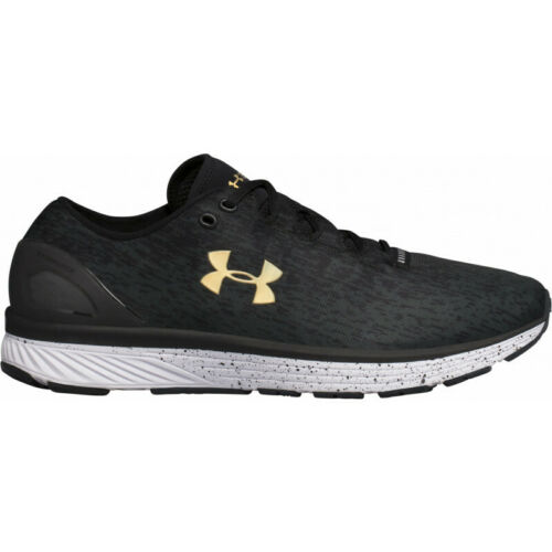 Black Mens Under Armour Charged Bandit 3 Ombre Mens Running Shoes
