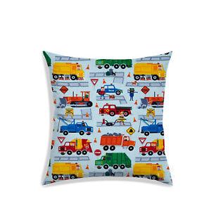 Christmas Digitally Printed Satin Cushion Cover Sky Blue Pillow Cover Décor