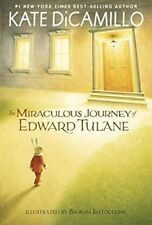 The Miraculous Journey of Edward Tulane by Kate DiCamillo (2015, Paperback)