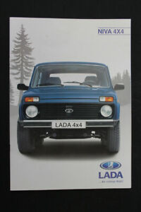 Old BROCHURE ADVERTISING LADA NIVA 4x4 old vintage retro