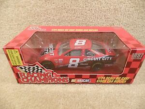 New-1997-Racing-Champions-1-24-NASCAR-Hut-Stricklin-Circuit-City-Thunderbird