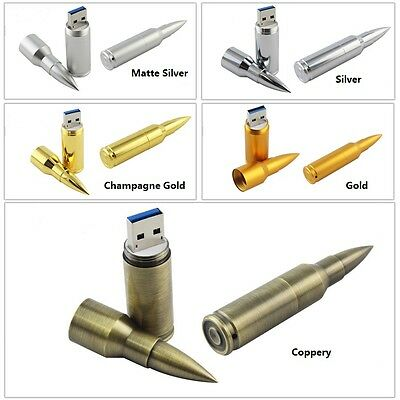Cool Metal Bullet model USB 2.0 Memory Stick Flash pen Drive 4GB-32GB USB114