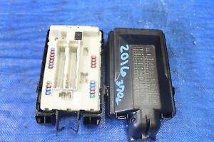 2016 nissan 370z nismo oem factory engine bay junction fuse box image is loading 2016 nissan 370z nismo oem factory engine bay