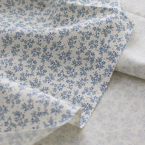 """Cotton Fabric Flower Fabric sewing by the Yard 44/"""" Wide Cozy marguerite flower"""