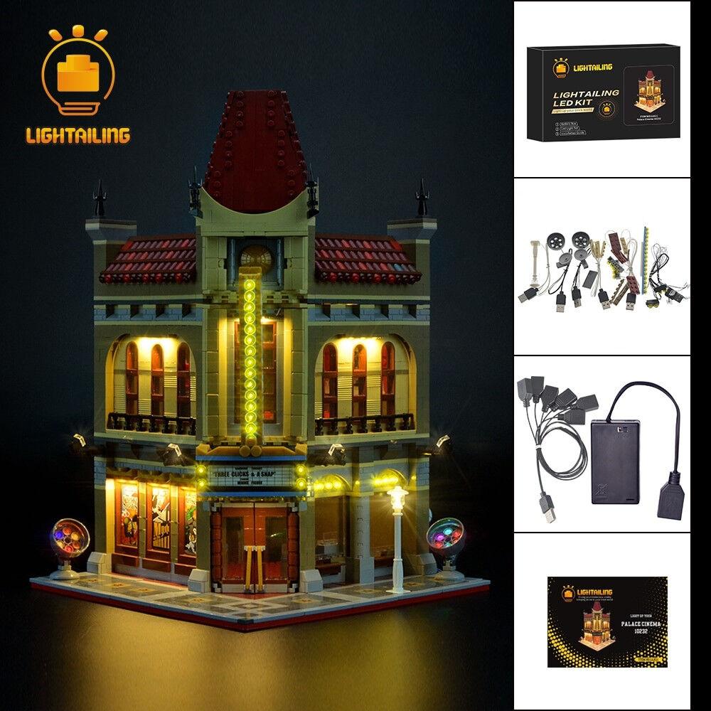 Led Light Kit For LEGO Palace Cinema Creator Expert 10232 Lighting Set