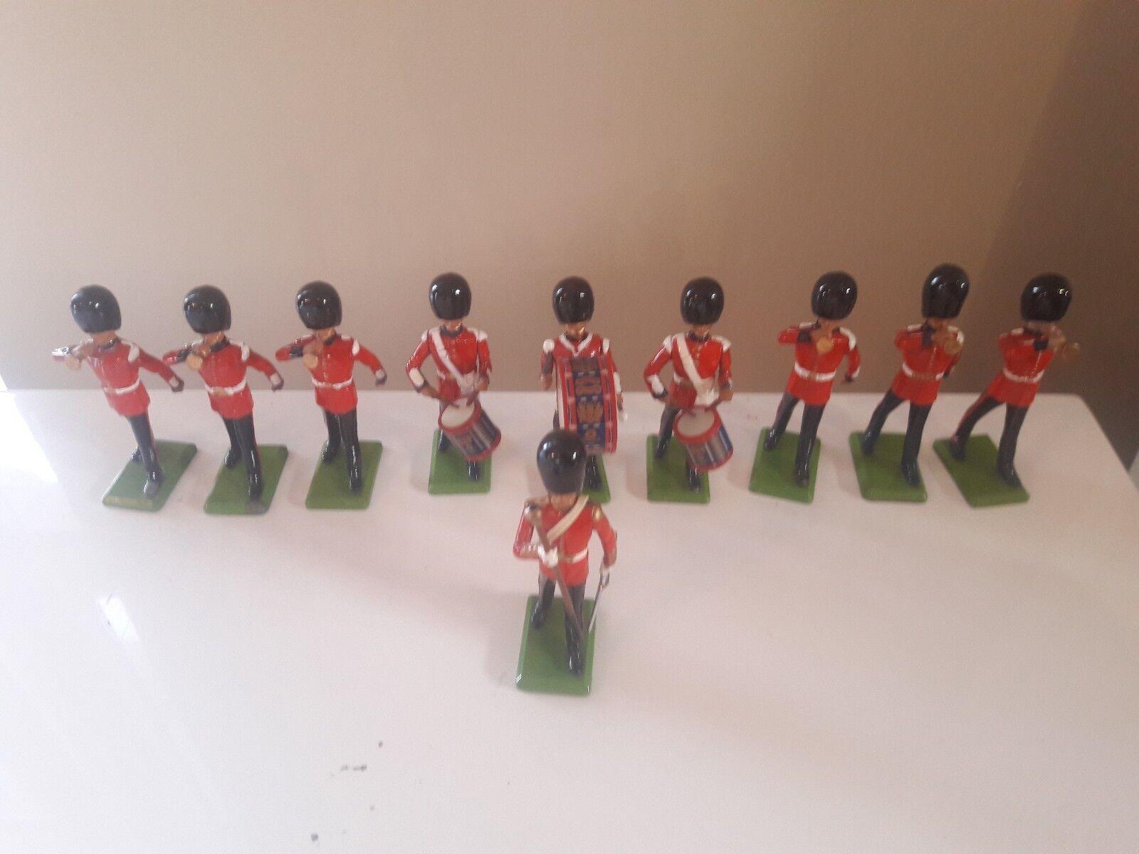 Britains ceremonial  scots guards band royal wedding  boxed 1980s 1 32 7206