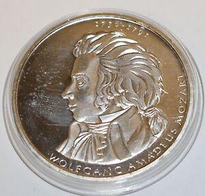 10 Euro Münze Deutschland Brd Wolfgang Amadeus Mozart Musiker Silber