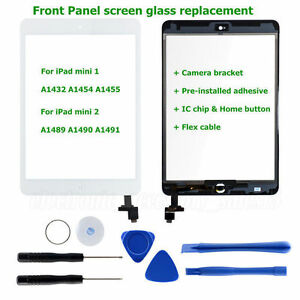 Touch-Screen-Glass-Digitizer-Replacement-IC-Home-Button-Tools-for-iPad-Mini-1-2