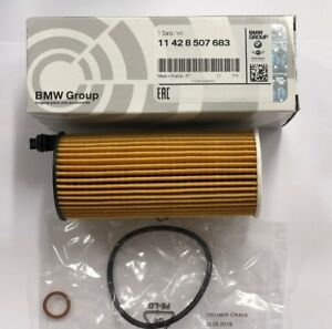 Genuine-BMW-Filtro-De-Aceite-11428507683-E90-F20-F30-F32-F36-F10-F15