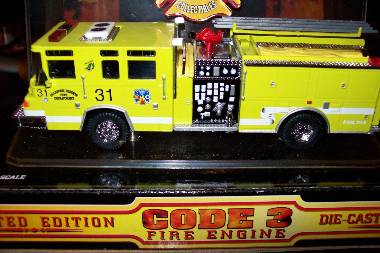 Code 3 - Dearborn Heights  Engine - 31, 31, 31, MI  (fire patch) 0bd366