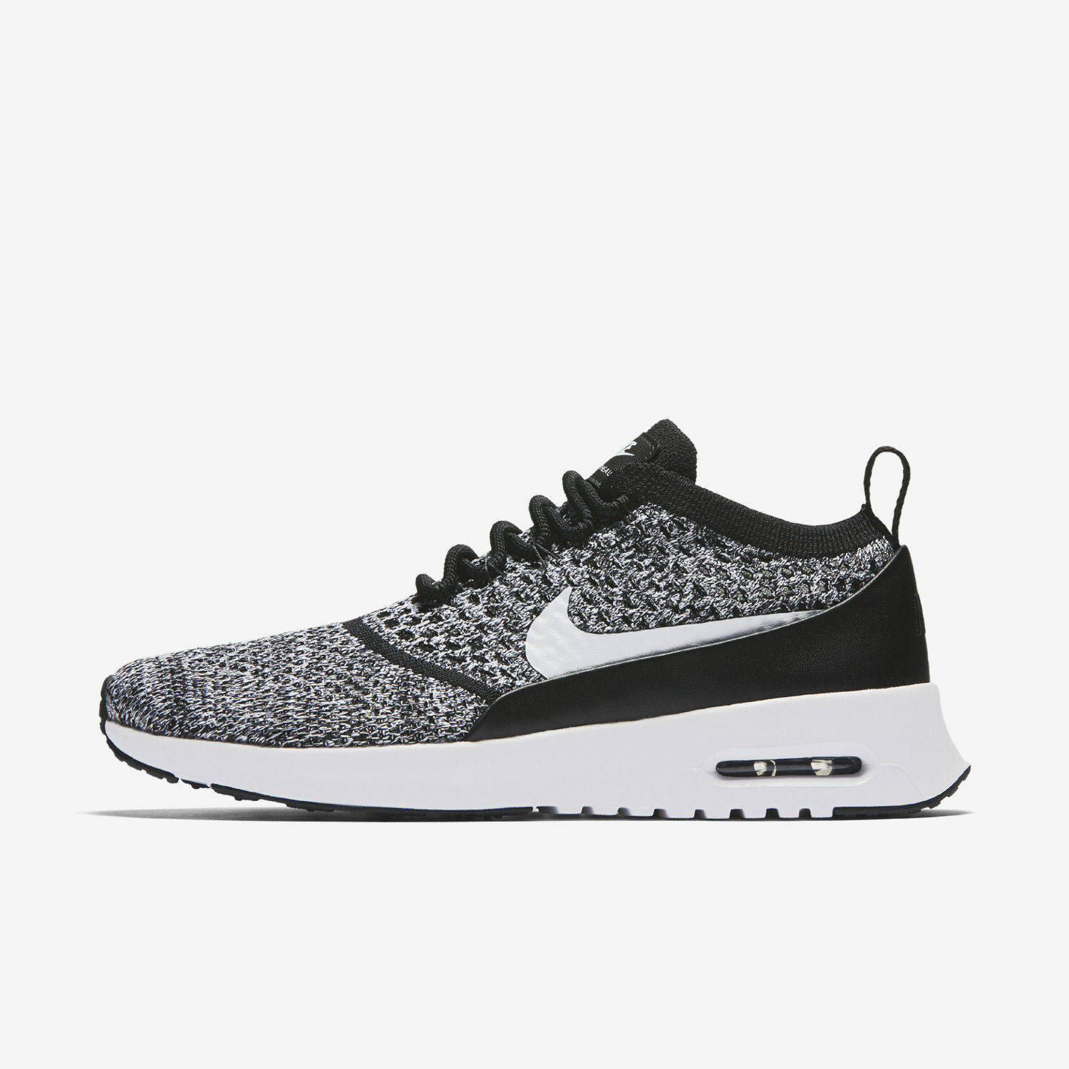 Nike WOMEN'S Air Max Thea Ultra FLYKNIT OREO SIZE 9.5 BRAND NEW