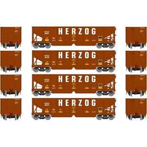 Athearn-HO-Ready-to-Run-40-039-OB-Ballast-Hopper-Load-HZGX-1-4