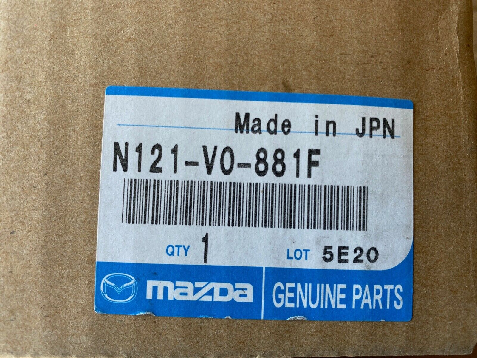Mazda Genuine Accessories N121-V0-881F Ashtray