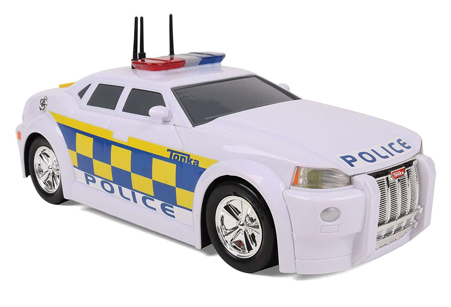 Tonka Police Car Vehicle Flashing Lights Sounds Boys Toy Kids Gifts