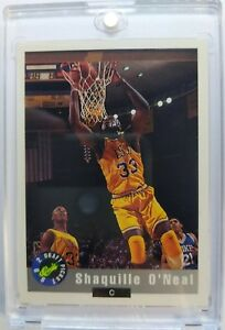 Rare-Promo-1992-92-Classic-Draft-Picks-Shaquille-O-039-Neal-RC-National-Convention