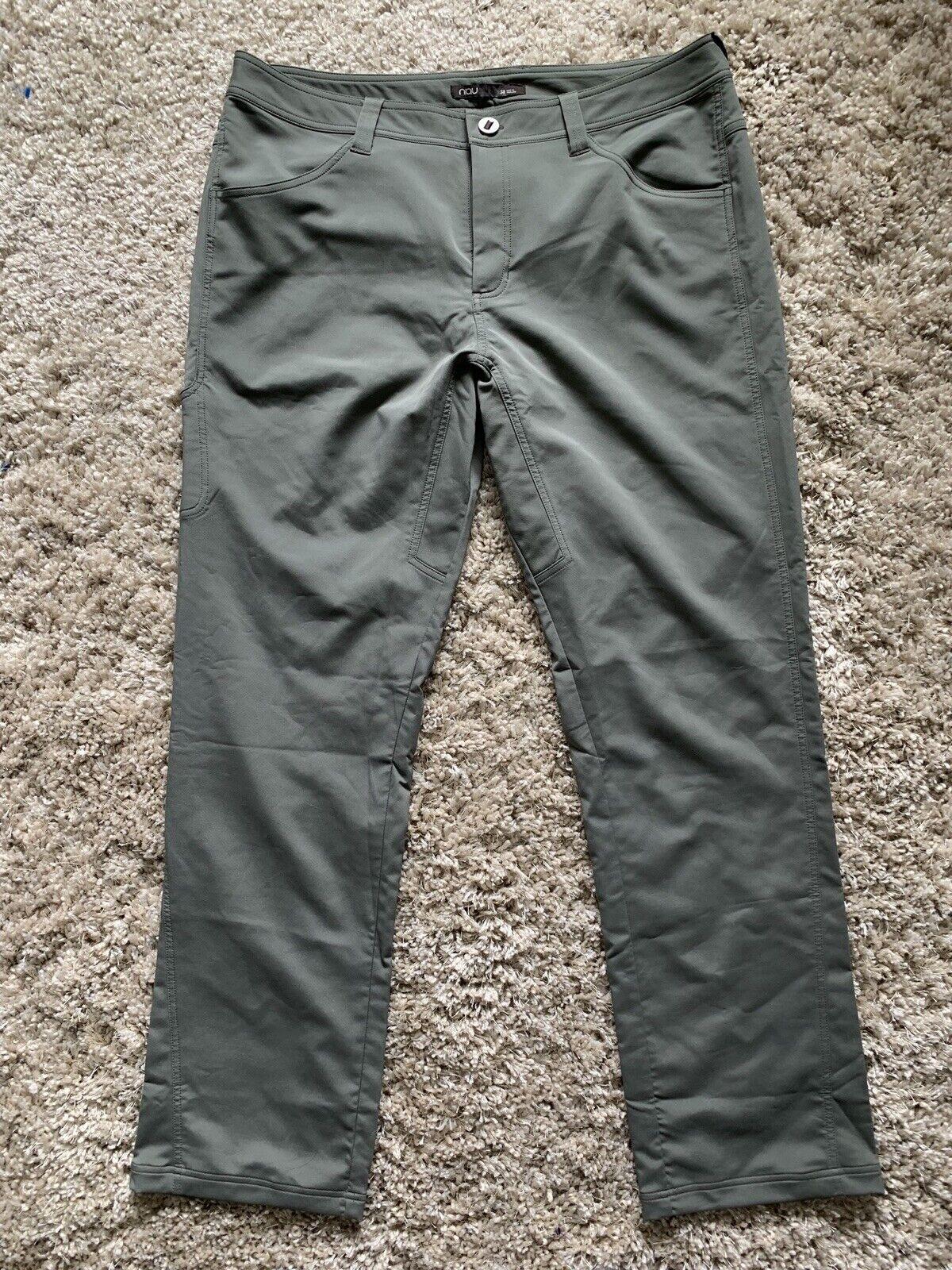 Nau Pantalones  Talla 38 para Hombre Pantalón Cochego Utilidad Stretch  nueva marca