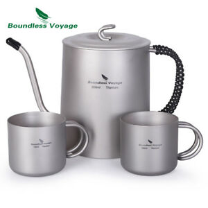 Outdoor-Titanium-Gooseneck-Spout-Coffee-Pot-Tea-Kettle-Maker-for-Camping-Hiking