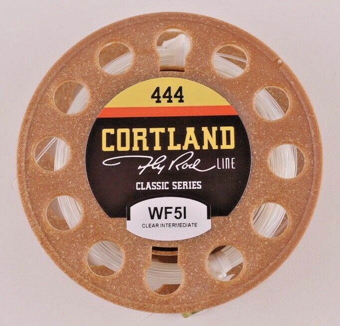Cortland 444 Classic Clear Line Intermediate Fly Line Clear WF5I Free Fast Shipping 474321 4964b4