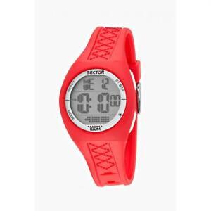 Orologio-SECTOR-SKATER-R3251583006-Digitale-Silicone-Rosso-Chrono-Junior