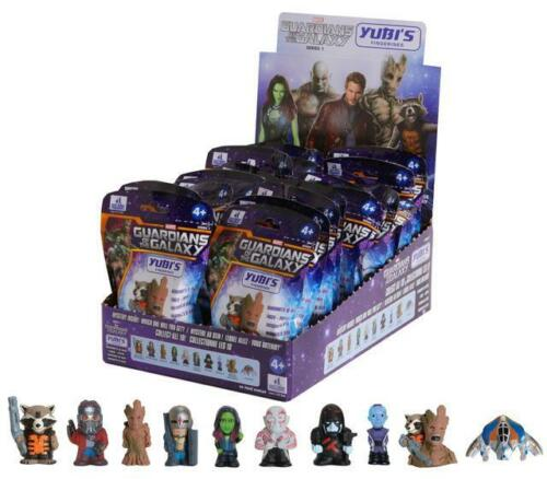 ONE BLIND BAG GUARDIANS OF THE GALAXY YUBI/'S FINGERINES SERIES 1