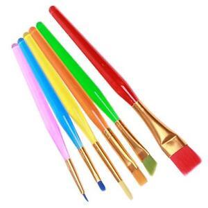 6pcs kitchen cake icing decorating painting brushes for Kitchen tool 6pcs set