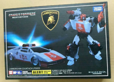 Japan Takara Tomy Transformers QTF QT05 Sideswipe Lamborghini Countach LP500S