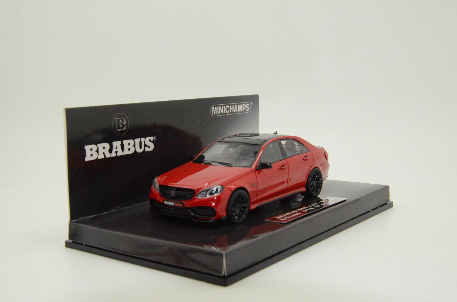 nuevo listado Mercedes Brabus Brabus Brabus 850 E63 clase e 2015 Rojo Metálico Minichamps 034100 1 43  precio al por mayor