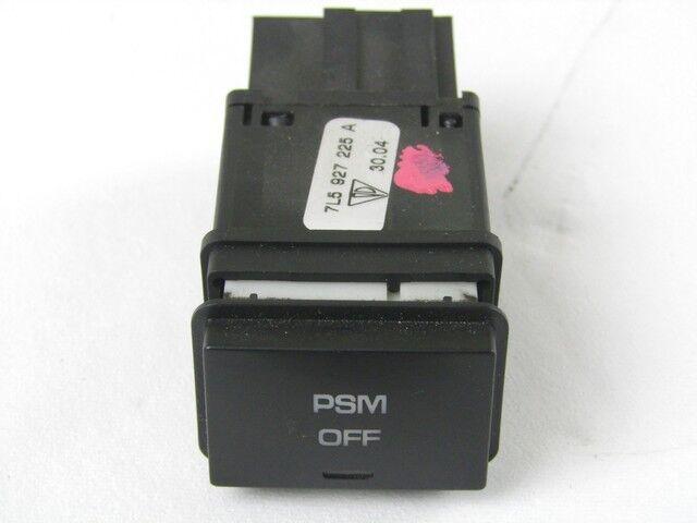 7L5927225A Comando Interruptor Activación Control De Estabilidad Psm Off Porsc