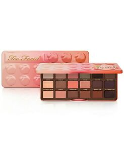 TOO FACED SWEET PEACH EYE SHADOW PALETTE NEW IN BOX