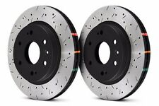 DBA FRONT DRILLED & SLOTTED BRAKE ROTORS FOR NISSAN 370Z INFINITI G37 G37S SPORT