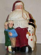 WILLIAM JOYCE SANTA COOKIE JAR SAKS FIFTH AVENUE CHRISTMAS TREE ORNAMENT NEW!!!!