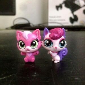 2Pcs-Littlest-Pet-Shop-LPS-Squirrel-amp-Cat-Kitten-cute-pet-mini-figure-toy-doll