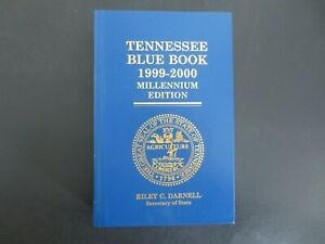 Tennessee-Blue-Book-1999-2000-Millennium-Edition-Hardcover
