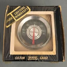 "Vintage NOS Dixco Ammeter Amp Gauge 2-1/32"" Model 106 Street Rat Hot Rod 1960s"