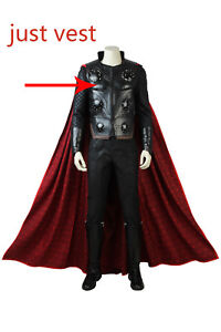 Avengers 3 Cosplay Thor Vest Infinity War Thor Costume The ...