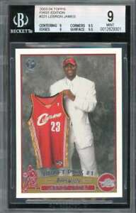 LeBron-James-Rookie-Card-2003-04-Topps-First-Edition-221-BGS-9-9-9-5-9-9-5