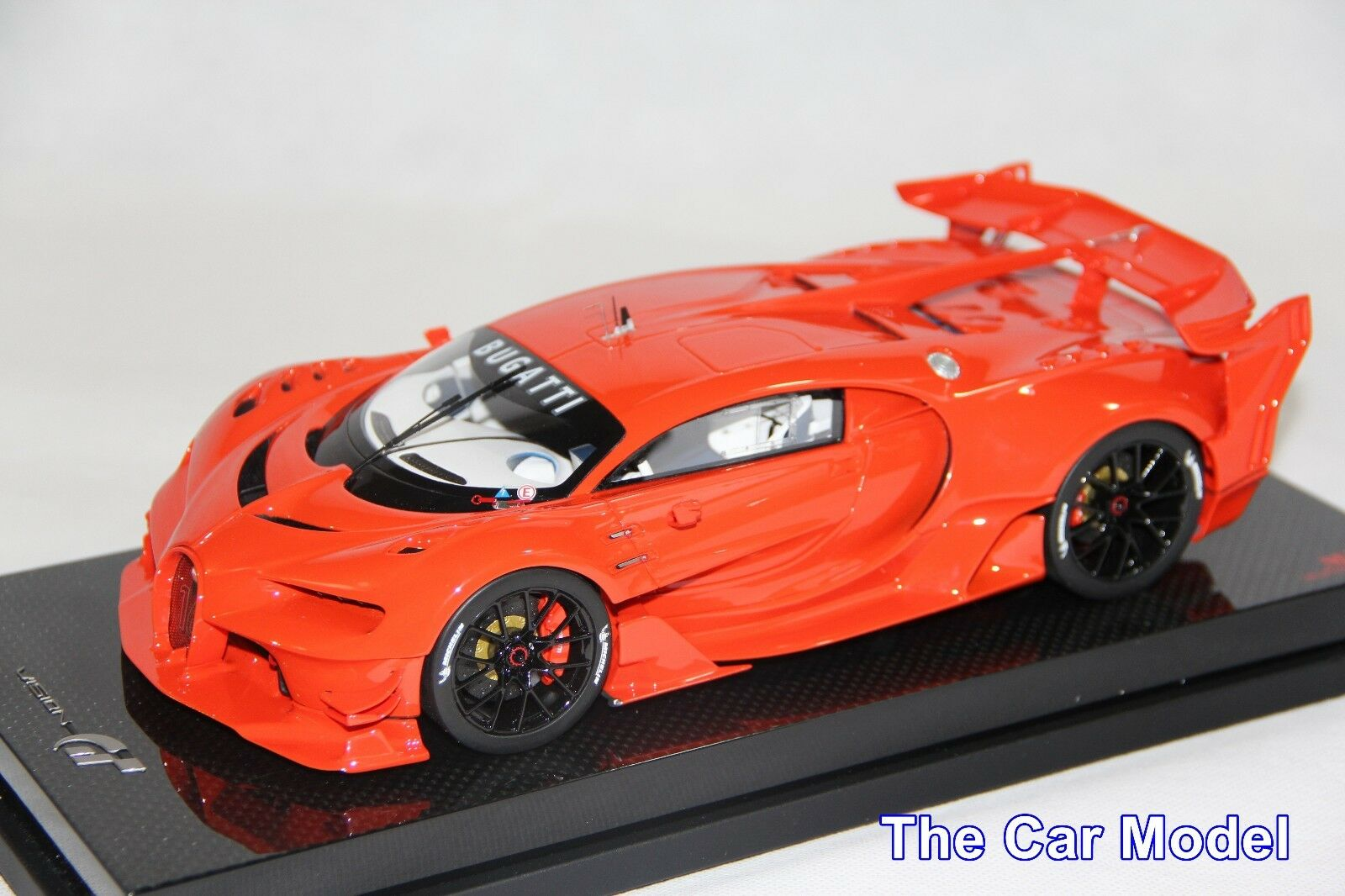 Bugatti Vision GT Gran Turismo Red red Dino, Dino, Dino, Carbon Base - Ltd 30 pcs MR 1 18 61e